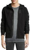 Belstaff Blakenham Modern Fleece Jacket, Black