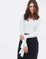 Sportscraft Signature Mila Tie Sleeve Knit
