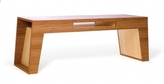 Brave Space Pin It Hollow Coffee Table - Amber And Blonde Bamboo Ply