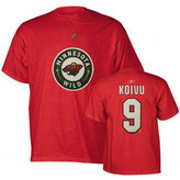 Reebok Men's Short-Sleeve Mikko Koivu Minnesota Wild NHL Player T-Shirt