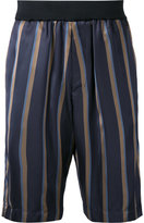 3.1 Phillip Lim striped shorts - men - Viscose - S