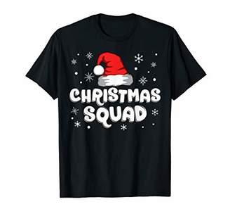 Christmas Squad Santa Hat Matching Family Pajama Kids Gift T-Shirt