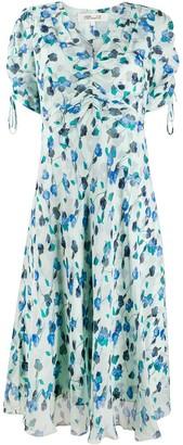 Diane von Furstenberg Eleonora floral-print silk dress