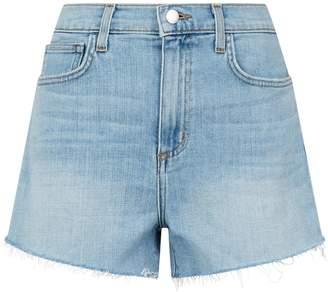 L'Agence Ryland High-Waist Denim Shorts