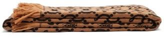 Gucci GG Bee-jacquard Blanket - Brown Multi