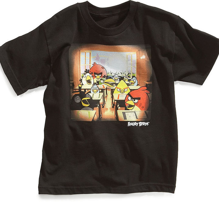 Epic Threads Kids T-Shirt, Boys Angry Birds Graphic Tee