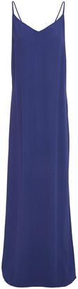 BA&SH Silk-crepe Maxi Dress