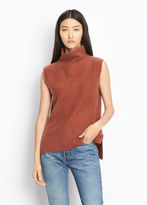 Vince Split Side Cashmere Turtleneck