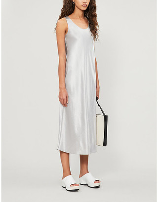 Max Mara Sleeveless woven midi dress