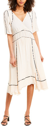 BA&SH Flavie Midi Dress