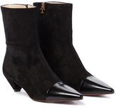 Thumbnail for your product : Tod's Leather and suede ankle boots