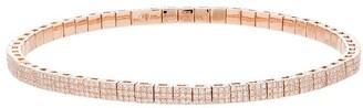 Shay 18kt Rose Gold Diamond Studded Bracelet