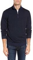 Tailor Vintage Men's Reversible Quarter Zip Sweater
