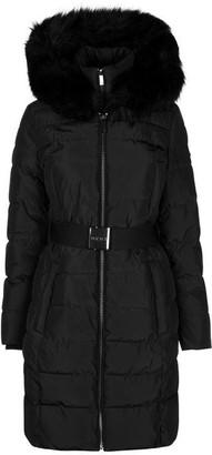DKNY Belt Puffer Jacket