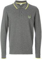 Kenzo longsleeved tiger polo shirt - men - Cotton - S