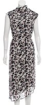 Camilla And Marc Sleeveless Leopard Print Dress