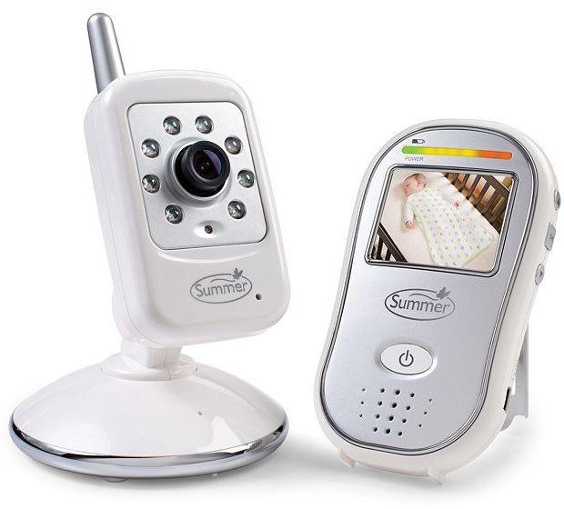 Summer infant safe sight digital color video baby monitor