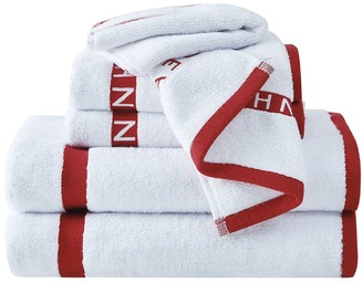 Sean John Block Letter 6-piece Bath Towel Set