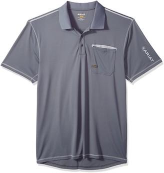 Ariat Men's Rebar Freeze Point Polo Shirt