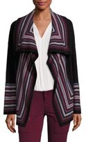 Joie Dagna Wool Striped Cardigan