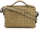 Tod's studded crossbody bag - women - Suede - One Size