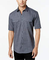 Alfani Short Sleeve Warren Textured Shirt, Created for Macy's