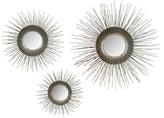 Safavieh Sunburst Triptych Mirrors (Set of 3)
