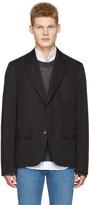 Maison Margiela Black Pocket Detail Blazer