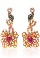 Wendy Yue Primrose Bloom Earrings