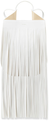 REE PROJECTS Helene Mini Fringe Tote Bag