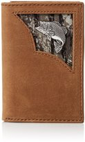 Nocona Men's Bass Inlay Trifold