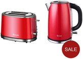 Swan Kettle And 2-Slice Toaster Pack - Red