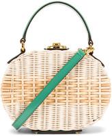 Mark Cross Gianna Oval Box Bag in Celadon   FWRD