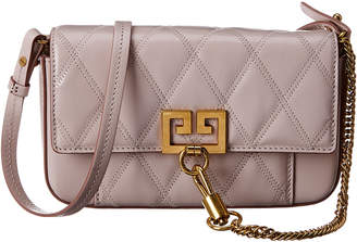 Givenchy Pocket Mini Diamond Quilted Leather Crossbody