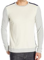 Nautica Men's Slim Fit Color Blocked Long Sleeve Shirt