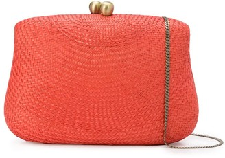 Serpui Marie Braided-Straw Shoulder Bag