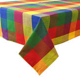 Town And Country Design Imports Indian Summer Checked Tablecloth