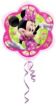 Amscan 18 Inch Disney Minnie Mouse Flower Shaped Foil Balloon
