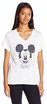 Disney Women's V-Neck T-Shirt