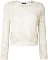 Aspesi fishnet jumper - women - Cotton - 42