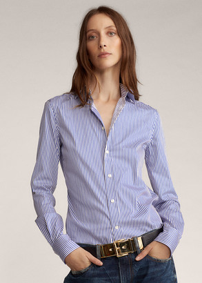 Ralph Lauren Charmain Striped Shirt