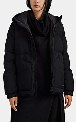 Yohji Yamamoto Regulation Women's Wool Down Puffer Jacket - Black