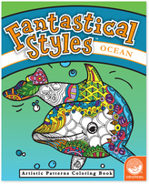 Fantastical Styles: Ocean Coloring Book
