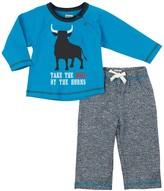 Hatley Bulls Eye Track Pant Set (Baby Boys)
