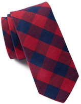 Original Penguin Bruno Check Print Tie