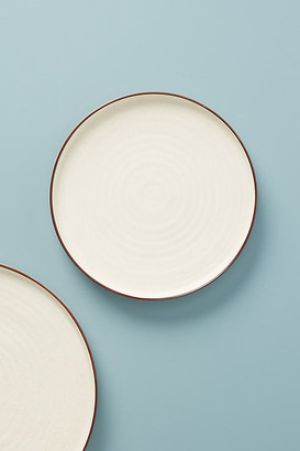 Ilana Matte Side Plates, Set of 4 By Gather by Anthropologie in Beige Size S/4 side p