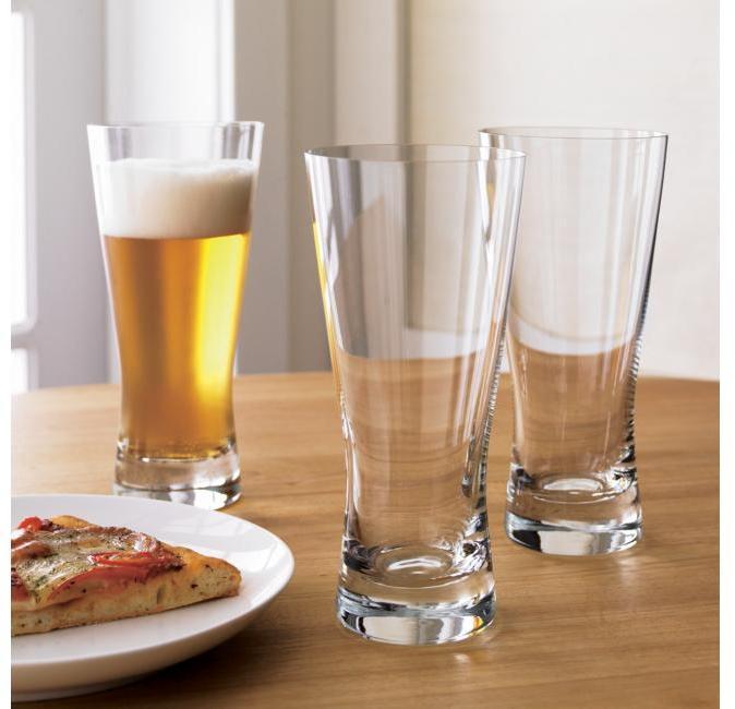 Crate & Barrel Portland Beer Glass