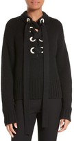 Joseph Women's Lace-Up Cashmere Sweater