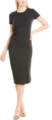 Brunello Cucinelli Wool-Blend Sheath Dress