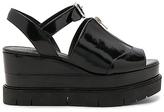 AllSaints Gino Platform in Black
